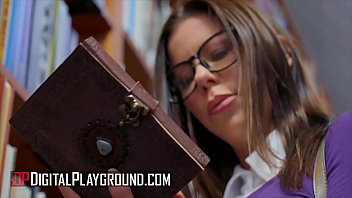 Bound (Alexis Fawx) watches while (Carmen Caliente) takes Small Hands' big cock - Digital Playground thumbnail