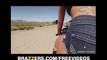 Busty biker beauty Destiny Dixon gets caught speeding