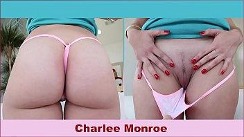 Top new porn star - Bangbros - beautiful blonde pawg charlee monroe sucks and rides a big cock