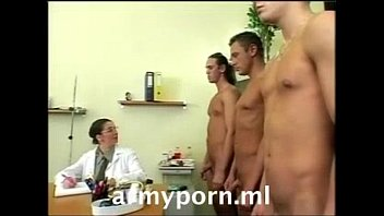 Vintage army air corp - Army on duty office gangbang