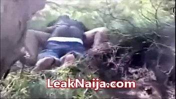 AFRICAN MARRIED WOMAN CAUGHT HAVING SEX WITH OKADA MAN INSIDE BUSH - LEAKNAIJA