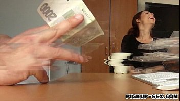 Czech slut picked up on the street and fucked for cash