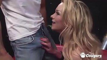 Milf Paige Ashley Gets A Hot Load Shot On Her Big Phony Tits