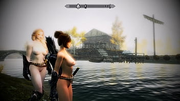 [SKYRIM MOD] Sexy Swimming at Lake Honrich