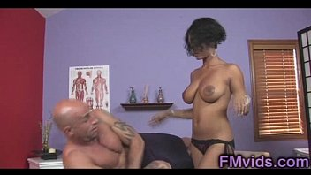 Lavish Styles plays with cock after massage