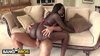 Passed out and being fucked Bangbros - big booty black babe tatiyana foxx taking white cock from rocco reed