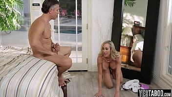 Thong stuffing with porn goddess Brandi Love