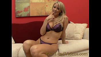 blonde milf fucking shaved pussy with dildo and riding big cock
