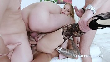 Armpit deep anal fisting - Tap and fisting kira thorn gets it balls deep all the way with swallow while fisted gio1023