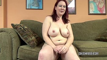 Mature chubby blow job - Mature redhead lia shade is blowing a dude she just met
