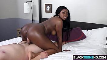 Nerdy Black Sweety Krista Fox Gets Fucked