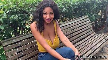 Tina Fire la brasileña de 20 años y 20 kilos de tetas gordas, Videos porno de las pilladas de Torbe thumbnail