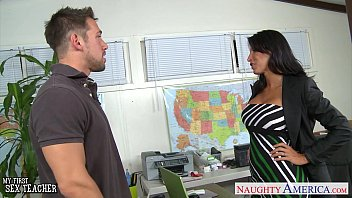 Lezey zen fucking Tanned sex teacher lezley zen gives titjob