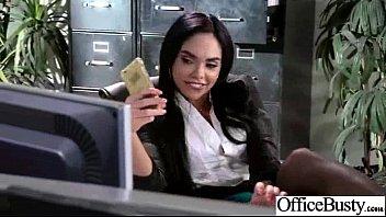 Office Girl (selena santana) With Big Melon Tits Love Sex movie-41