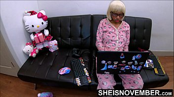 I Seduced My Step Dad While Mom Is Sleeping, kuwaii Black Step Daughter Msnovember Doing Home Work & Playing Fortnight Then Violently Fucked By Daddy BBC Doggystyle POV Hardcoresex, Tiny EbonyPussy In Hello Kitty Butt Flap Pajamas Geeksex On Sheisnove