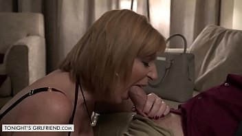 xxx www vidoe & Tonights Girlfriend Sara Jay gives customer a very exclusive lap dance thumbnail