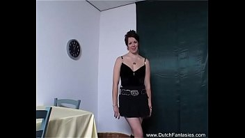 Dutch Punk Babe Happy Handjob