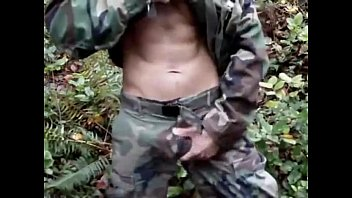 Army reg homosexual Handjob in the army