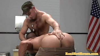 Muscular Jock Getting His Asshole Drilled