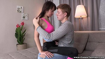 Casual Teen Sex - Casual sex Angie Moon with great cumshot teen porn