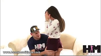 Gia Paige get a welcome to Hussie Auditions Preview