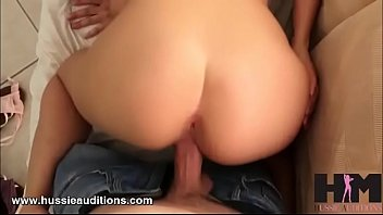 Gia Paige get a welcome to Hussie Auditions