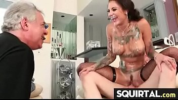 massive squirting and creampie female ejaculation 23