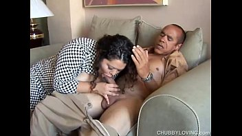 Pretty latina plumper loves sucking cock & the taste of cum preview image
