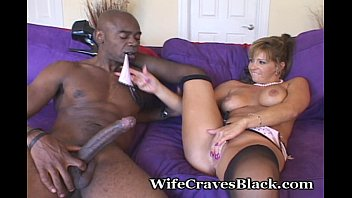 Excited About Huge Cock Splitting Her Pussy