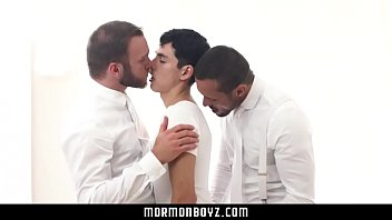 Church and gay adoption - Mormonboyz- submissive boy fucks two older men