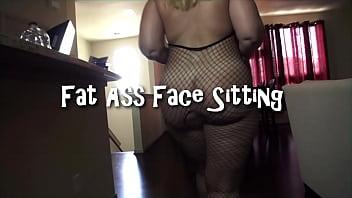 Fat Ass Face Sitting