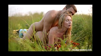 Dressed up honeys sex from behind - Outdoor doggystyle fucking