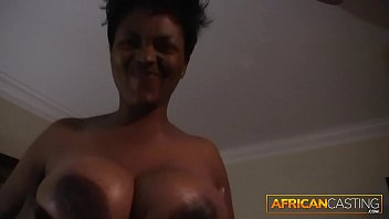 African Amateur Loves Giving Blowjobs