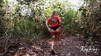 Streaming Video Extra Risky Quickie On Public Beach Access Boardwalk - XLXX.video