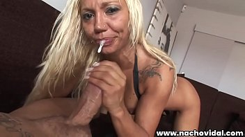 Made In Xspana #04 Nacho Vidal rams his dick into the voluptuous spanish Ginger Hell's wet pussy. He spurts his cum on the milf