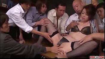 Asian porn stockings - Maki hojo tries more than one cock in serious porn scenes - more at pissjp.com