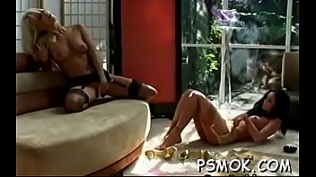 Tight pussy smoking Oral job lovely with a smoke