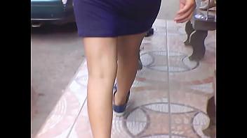 Culito en la calle Trasparentando calzon tanga Thumb