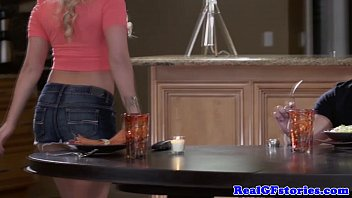 Wife fucking five guys stories - Cheating housewife fucking in the kitchen