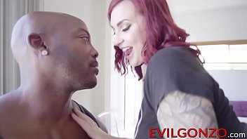 Nasty redhead babe Amber Ivy's holes destroyed by BBC thumbnail