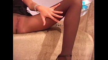 Jenna Haze pantyhose action