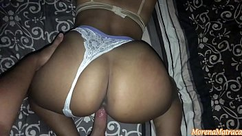 I found her asleep with her big ass and thong ready to be penetrated