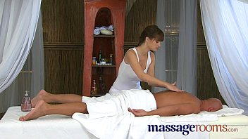 Massage Rooms Big cock therapy by masseuse with big tits thumbnail