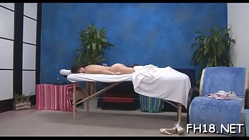Gorgeous eighteen year old girl gets a massage and a a lot more from her massage therapist, jake!