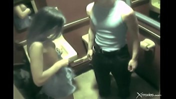 Wife cheats with big dick Wife with gorgeous body cheats in toilet during a party