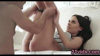 Sweet brunette passion fuck
