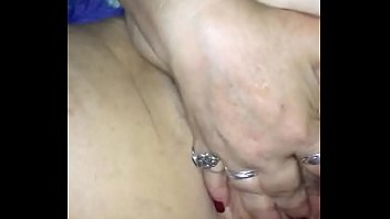 BBW stepmom gets clit slapped