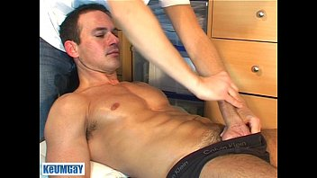 Maine gay massage Marc is jerking-off in my hands, lot of sperm until coming...