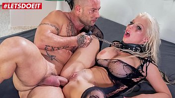 LETSDOEIT Busty Blonde Has Her First Rough Anal Sex And She Loves It (Barbie Sins & Mike Angelo)