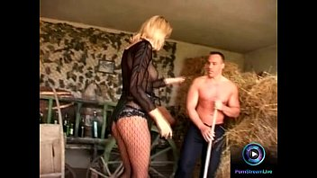 Antonia leslie porn Slender blonde leslie taylor enjoys screwing two cocks at the barn
